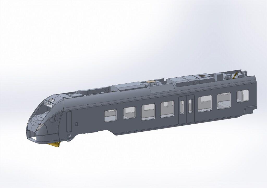 CAD-Render des Endwagen B (Stand Anfang Juni 2019)